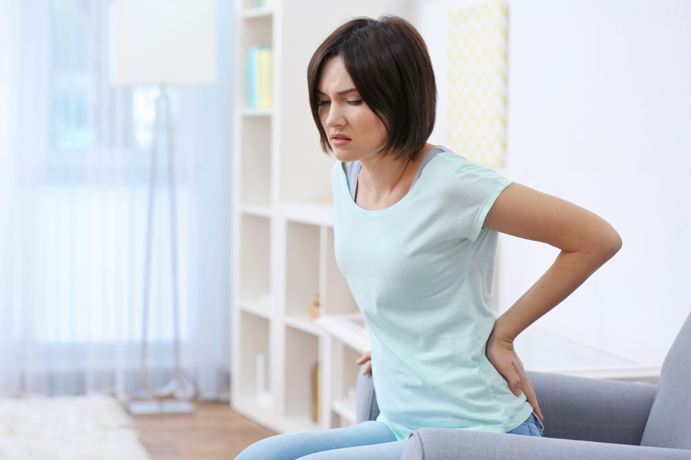 Women with lower back pain